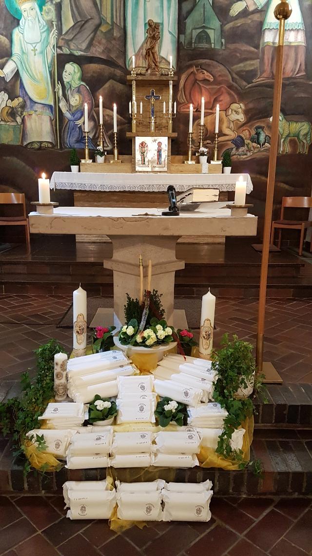 Kerzenweihe zu Maria Lichtmess